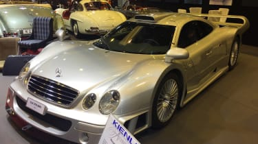 Mercedes-Benz CLK GTR Coupe - Retromobile