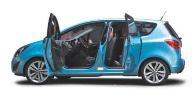 Vauxhall Meriva profile