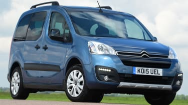 Citroen Berlingo 2016 - front quarter