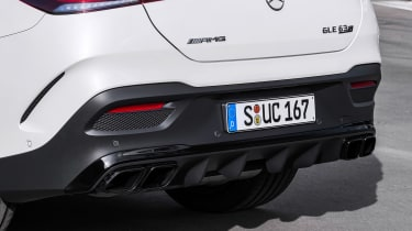Mercedes-AMG GLE 63 S Coupe - exhaust