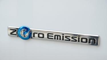 Living with an EV - Nissan e-NV200 badge