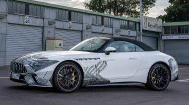 Mercedes SL prototype - front static