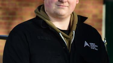 Student Car Mechanic, James Parkes