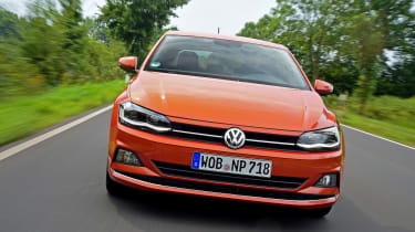 Volkswagen Polo - front tracking
