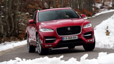 Jaguar F-Pace first drive - front cornering