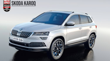 Skoda Karoq - 2019 Mid-size SUV of the Year