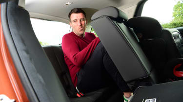 Land Rover Discovery Sport D180 first report - back seats