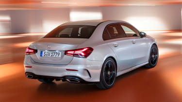 Mercedes A-Class Saloon - rear tracking