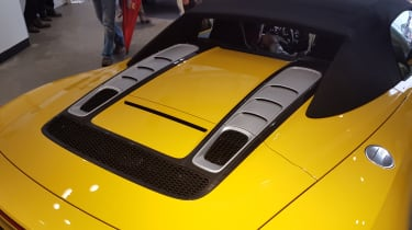 Audi R8 V10 Spyder - Goodwood rear deck