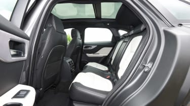 Jaguar F-Pace 25t - rear seats