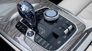 BMW X7 spy shot - gear lever