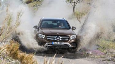 Mercedes GLC splash