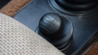 Land Rover Defender - modern classics interior