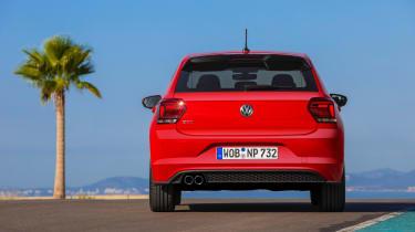 Volkswagen Polo GTI 2018 rear