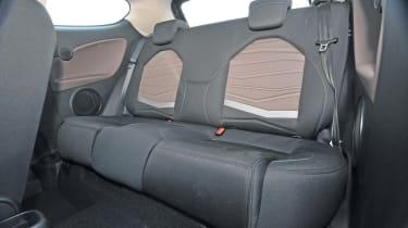 Alfa MiTo JTDm Sprint back seats