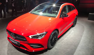 Mercedes CLA Shooting Brake - Geneva front