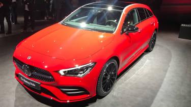 Mercedes CLA Shooting Brake - Geneva front