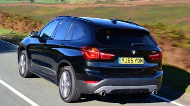 BMW X1 rear tracking
