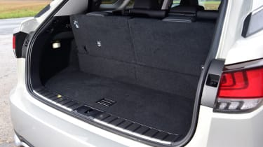 Lexus RX - boot seats up