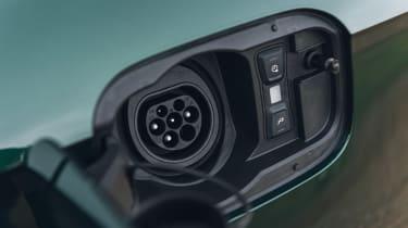 Audi Q5 55 TFSI e - charging port