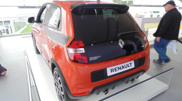 Renault Twingo GT - Goodwood rear quarter