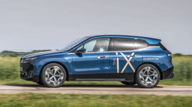 BMW iX prototype - side