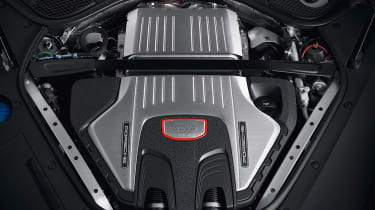 New 2018 Porsche Panamera GTS engine