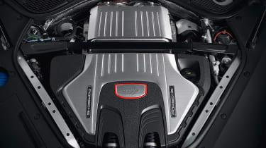 New 2018 Porsche Panamera GTS engine