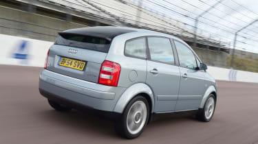 Audi A2 - rear