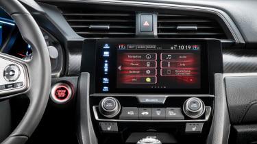 Honda Civic - infotainment screen