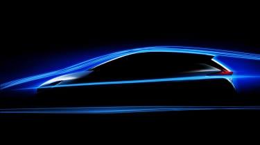 Nissan Leaf 2018 profile teaser