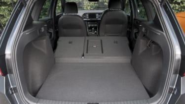 SEAT Ateca 1.4 TSI - boot seats down