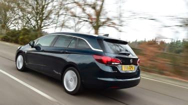 Vauxhall Astra ST - rear