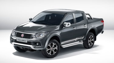 Fiat Fullback pick-up - front quarter