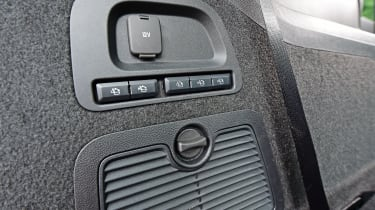 Ford Galaxy - rear seat buttons