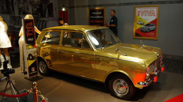Vauxhall brought along this golden Viva. Could be the most valuable Viva ever?