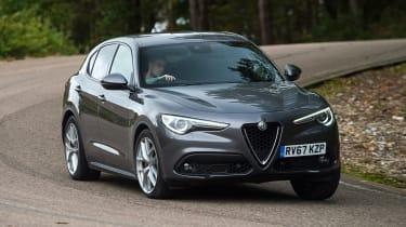 Alfa Romeo Stelvio - front action