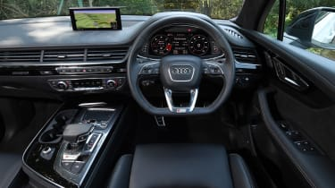 Audi SQ7 Vorsprung - dash