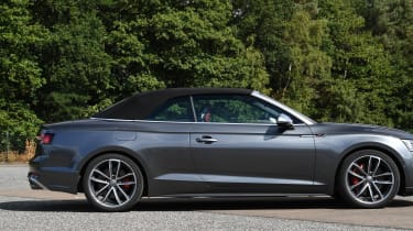 Audi S5 Cabriolet - roof up