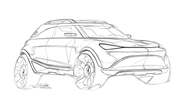 Smart SUV - sketch 2