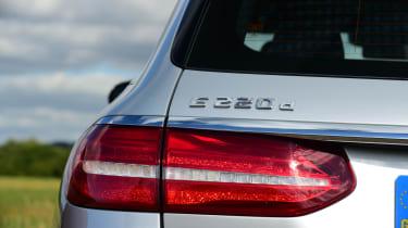 Mercedes E-Class Estate E220d UK - rear light