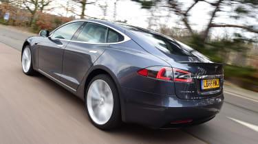 Tesla Model S - rear