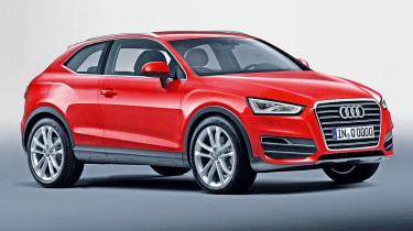 Audi Q2 front three-quarters