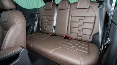 DS 3 - rear seats