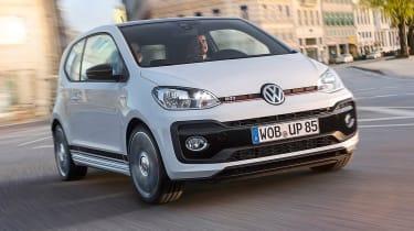 Volkswagen up! GTI - front action