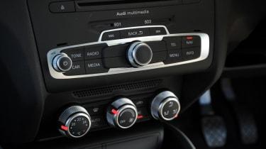 Audi A1 centre console