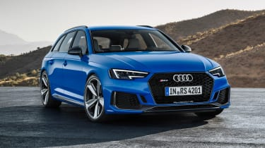 Audi RS4 Avant - front static