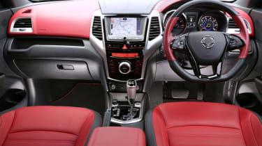 SsangYong Tivoli ELX diesel interior