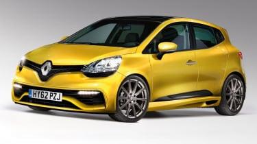 Renaultsport Clio front