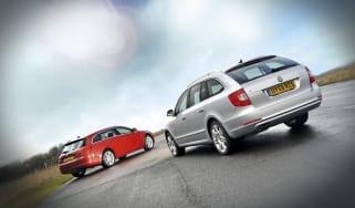 Skoda Superb estate vs Vauxhall Insignia